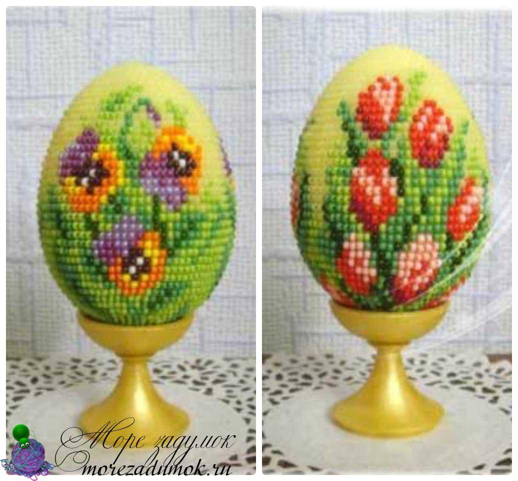 яйца из бисера