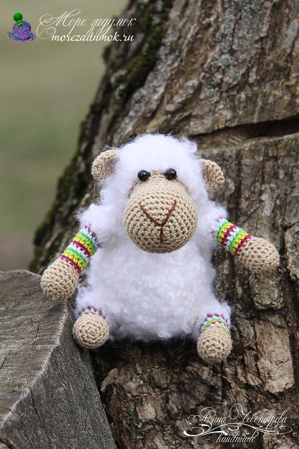 Амигуруми овечка