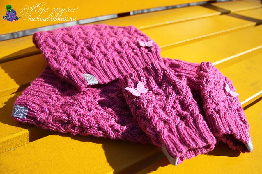 Вязание спицами для девочки