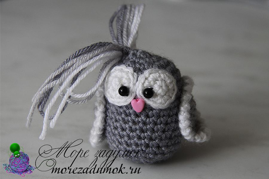 Ухо совы вязаной