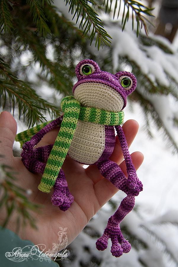 Лягушонок игрушка