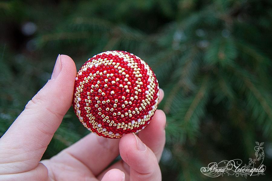 Бисерный шар