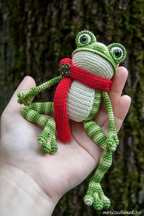 Лягушка ручная