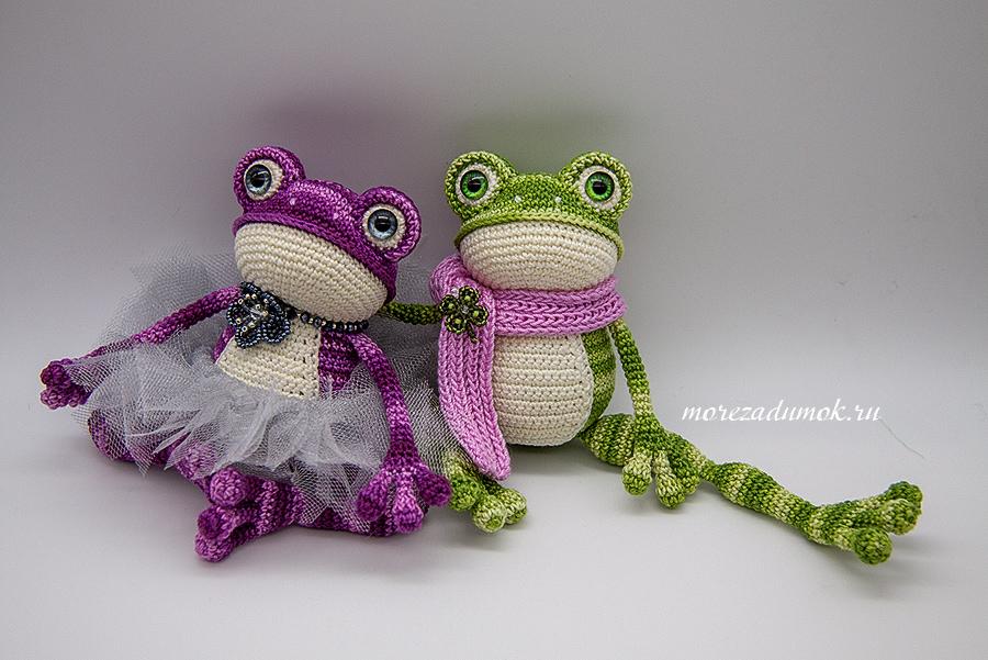 Frogs crochet