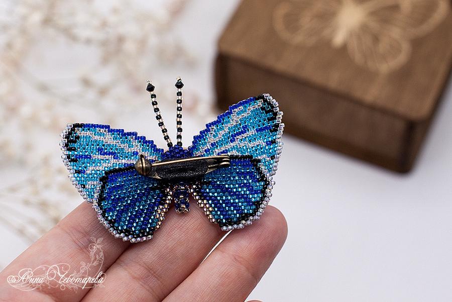 Бисероплетение бабочка